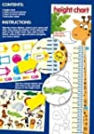 Children's Height Chart with over 40...