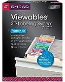 Smead Viewables® Labeling System, Starter Kit, Hanging Folder Labels, Ink-Jet and Laser Printers (64902)