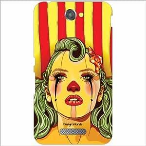 Design Worlds - Sony Xperia E4 Designer Back Cover Case - Multicolor Phone ...