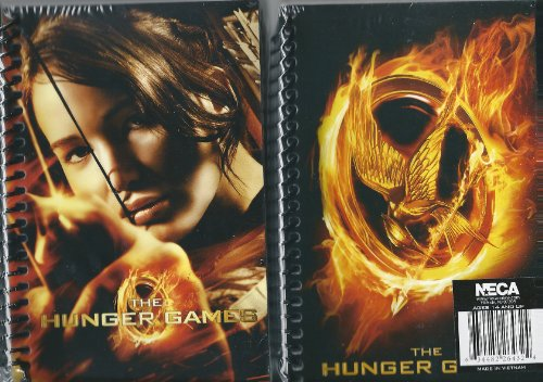 Hunger Games Spiral Bound Note Pad 2 Pack