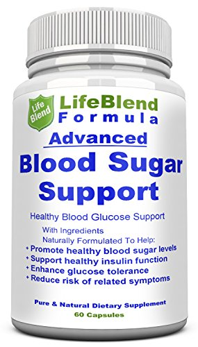 Fast Acting Natural Blood Sugar Control Supplement   Helps Support Healthy Blood Sugar Levels Naturally   Effectively Heightens Insulin Sensitivity