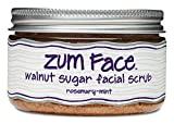 Zum Face Sugar Facial Scrub, Rosemary/ Mint/ Walnut