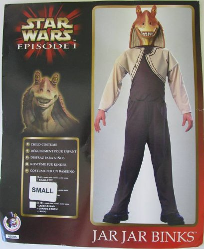 Collegeville Boys 'Star Wars Ep. 1 Jar Jar Binks' Halloween Costume
