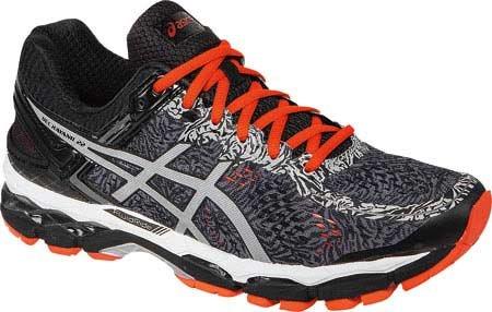 ASICS Men's Gel Kayano 22 Lite Show Running Shoe, Carbon/Silver/Cherry Tomato, 10 M US (Tomato Man compare prices)