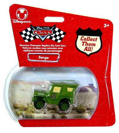 Disney/Pixar Cars, Sarge Exclusive Die-Cast Vehicle, 1:48 Scale - 1