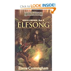 Elfsong (Forgotten Realms: Songs and Swords, Book 2) by Elaine Cunningham