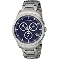 Tissot Mens T-Sport Analog Display Quartz Watch (Silver)