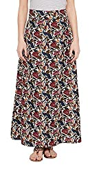 Meee Women's Wrap Skirt (MEEE-005001_Off white_Large)
