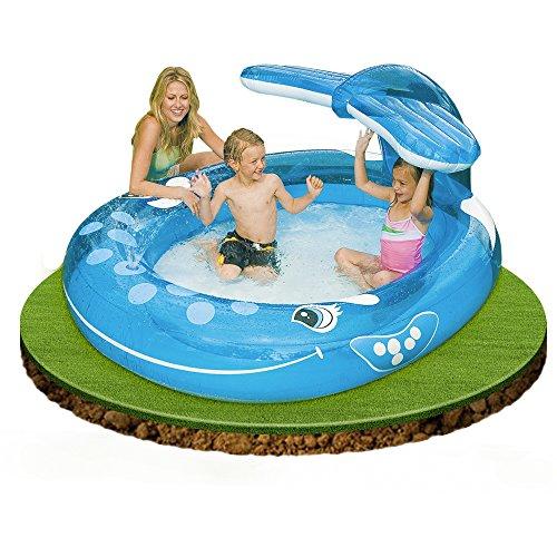 Intex 57435 piscina balena 208 x 157 x 99 cm azzurro - Amazon piscina bambini ...