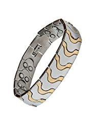 Evana Titanium Bio Magnetic Health Power Bracelet Stress Buster Improve Blood Circulation Best Biomagnetic Hand...