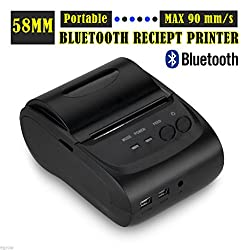 2 Inches 58mm Mini Android Bluetooth Port Thermal Receipt Printer Thermal Printer(buyers Will Need to Create Their Own Custom Printing Software When Used with Android Based Devices)