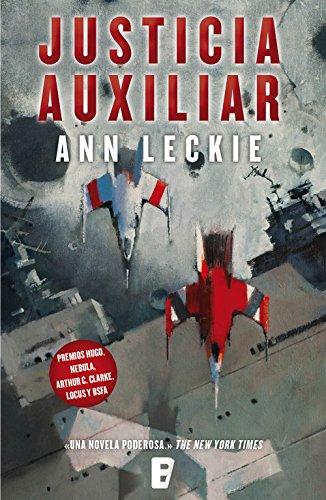 Portada del libro Justicia auxiliar de Ann Leckie