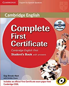 complete first certificate for spanish speakers students