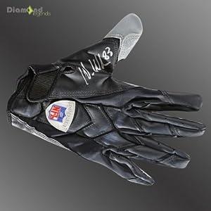 WES WELKER Signed Authentic Game Used Glove WELKER FOUNDATION Hologram & COA
