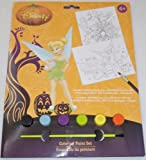 Disney Fairies Tinker-bell Halloween Coloring Paint Brush Set