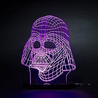 3d Star Wars Darth Vader Led Light Table Lamp Night Light