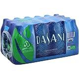 Dasani Purified Water, 16.9 Fl Oz (Pack of 24)