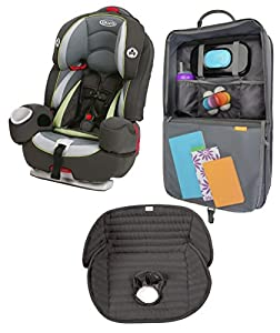 graco argos 80 elite 3 in 1 car seat with car seat seat mat organizer with tablet viewer go green. Black Bedroom Furniture Sets. Home Design Ideas
