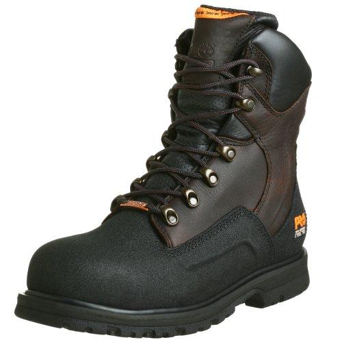"""Timberland PRO Men's G48Power Welt Waterproof 8"""" Steel Toe Boot"""