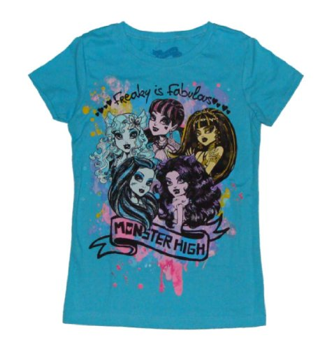 Monster High Freaky Fabulous Girls T-shirt