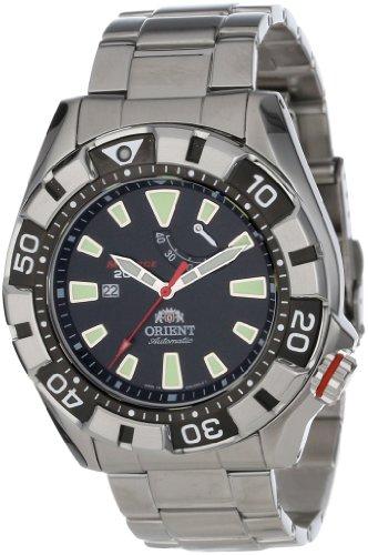 Orient SEL03001B0 45mm Silver Steel Bracelet & Case Anti-Reflective Sapphire Men's Watch