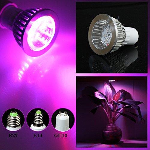 Gled® 7w E27 6red 4blue SMD LED Grow Light