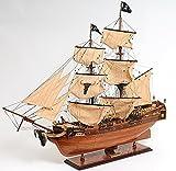 カリビアン パイレーツシップ 37インチ 海賊船 模型 完成品