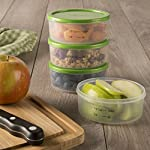 Smart Portions 1/2 Cup Container Set (Set of 4)