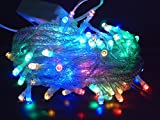Twinkle Starry LED Party Decorative color changing String lights with 8 modes by Kohars. 10m 100 LEDs Multi color. Ideal for Wedding Xmas Halloween Diwali Christmas Outdoor Indoor Decorative lights.