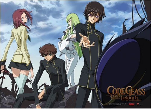 Code Geass Group Wall Scroll Poster GE-9949