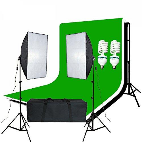 bps-1250w-continuous-lighting-50-x-70cm-soft-box-kit-and-black-chromakey-green-white-backdrops-softb