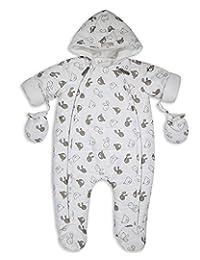31de05d6e The Essential One Trajes de nieve Abrigo para bebé crema