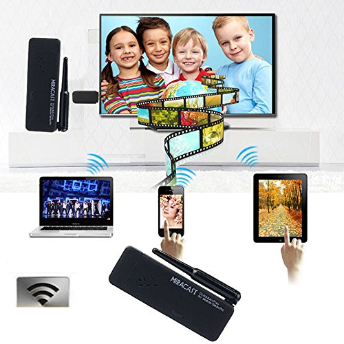 Why Choose Tonsee Miracast Wifi Display TV Dongle Receiver Wireless IPUSH AirPlay DLNA