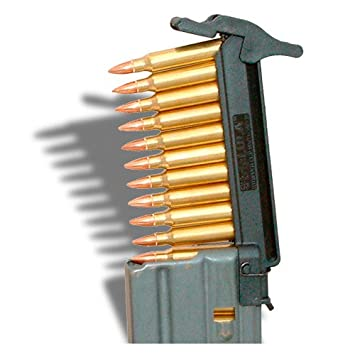 100 Used M16 / AR-15 Stripper Clips -