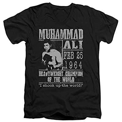 Muhammad Ali: Poster Slim Fit V-Neck T-Shirt