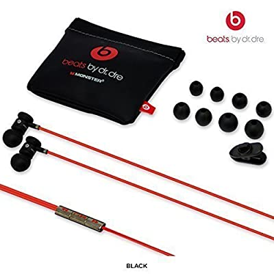 OEM Monster Beats By Dr. Dre 3.5mm In ear/earbuds Stereo Headset for HTC Red (Discontinued by Manufacturer)