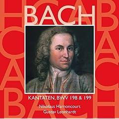 """Cantata No.198 Lass, F�rstin, lass noch einen Strahl BWV198 : V Aria - """"Wie starb die Heldin so vergn�gt"""" [Counter-Tenor]"""