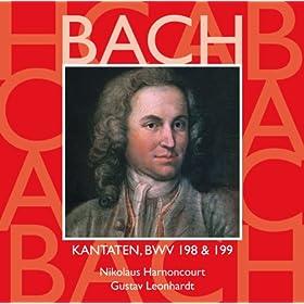 """Cantata No.198 Lass, F�rstin, lass noch einen Strahl BWV198 : III Aria - """"Verstummt, verstummt, ihr holden Saiten"""" [Boy Soprano]"""
