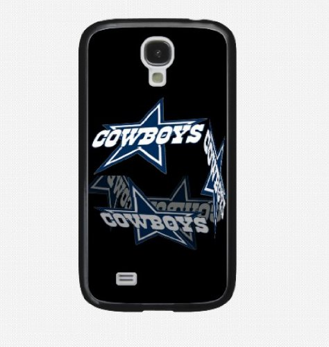 Fitted Samsung Galaxy S4 Siv Cases Nfl Dallas Cowboys Logo Black Snap-On Hard Case