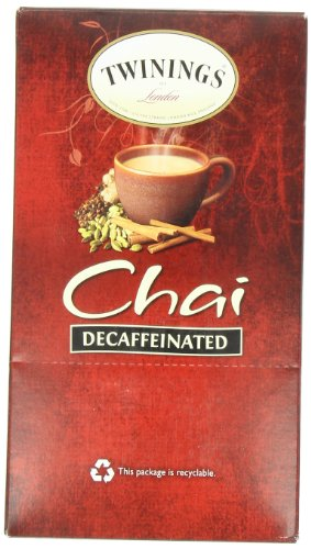 Twinings Chai Tea K Cup, Decaffeinated, 24 Count