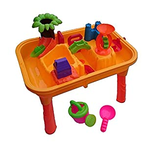 beach kinder wassertisch spieltisch sandkasten. Black Bedroom Furniture Sets. Home Design Ideas