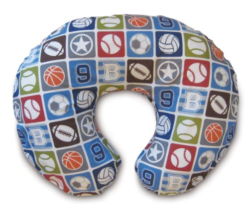 Review Of Boppy Pillow with Slipcover, Sports Star