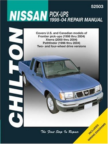 Nissan Pick-up, Xterra & Pathfinder 1998-2004 (Chilton's Total Car Care Repair Manuals) (Nissan Frontier Vault compare prices)
