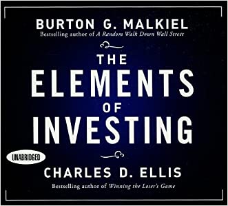 The Elements of Investing (Your Coach in a Box) written by Burton G Malkiel