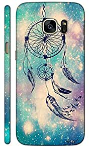 Aatank Premium Printed Mobile Case Back Cover for Samsung Galaxy Note5 Dreamcatcher