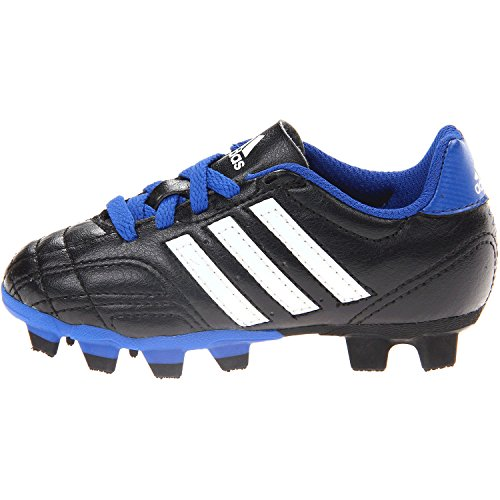 Adidas Performance Goletto Iv Trx Fg J Firm Ground Soccer Shoe (Little Kid/Big Kid), Core Black/Running White/True Blue, 10 M Us Little Kid front-37227