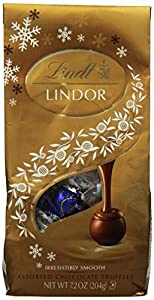 Lindt LINDOR Assorted Chocolate Holiday Truffle, 7.2 oz.