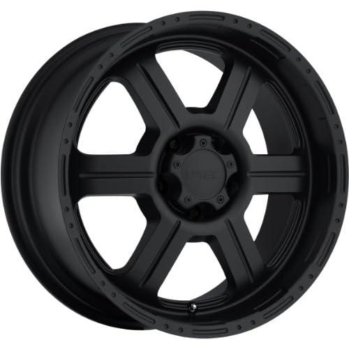 V Tec Off Road 20 Matte Black Wheel / Rim 6x5.5 with a 18mm Offset and a 106.2 Hub Bore. Partnumber 326 2983MB18
