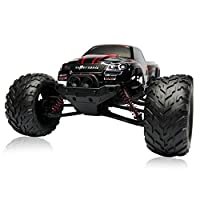 RC CARS 30MPH 1/12 Scale RTR Remote control Brushed Monster RC Vehicle Truck Off road Car Big Foot 2WD W/2.4G-Blue