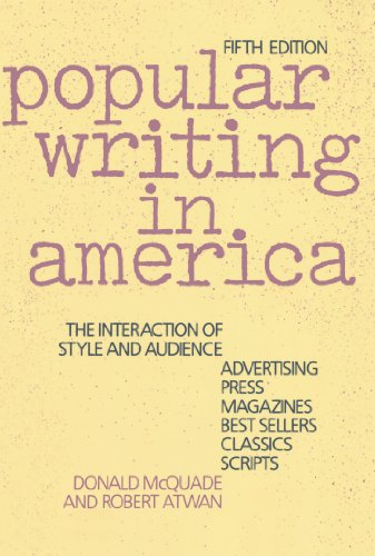 Popular Writing in America: The Interaction of Style and...